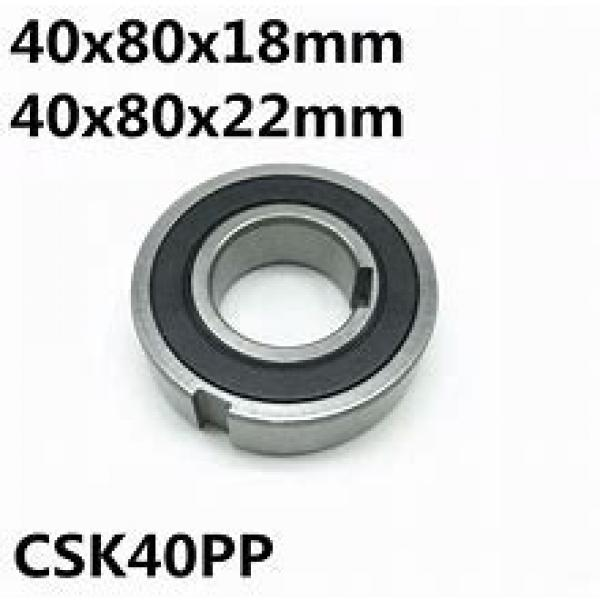 IKO CF18UUR  Cam Follower and Track Roller - Stud Type #1 image